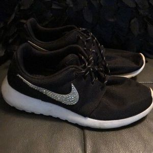 Rhinestone Nike Women's Tennis Shoes